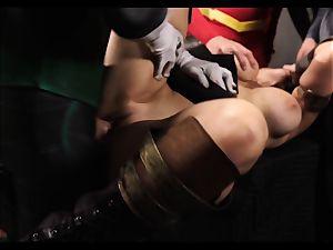 Justice League hardcore part 5 - Hero romp with Romi Rain