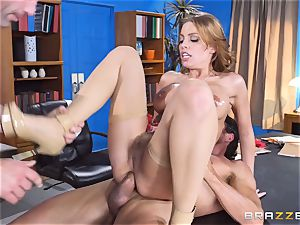 Britney Amber getting group torn up