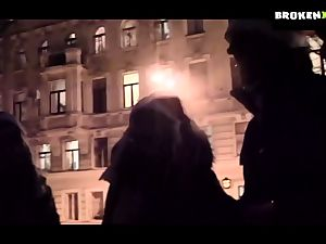 european teen frigged and smashed by sexysanta
