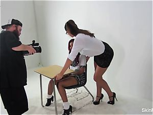 Behind the vignettes with flesh Diamond and Alison Tyler