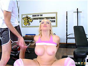 Kagney Linn Karter getting a vagina exercise with Danny D