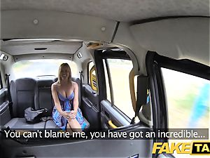 fake cab Mum with all-natural bosoms gets gigantic brit manstick