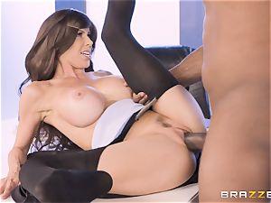 Alexis Fawx pulverized by meaty big black cock