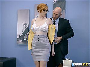 dick thirsty Lauren Phillips ravaged in her ginger gash