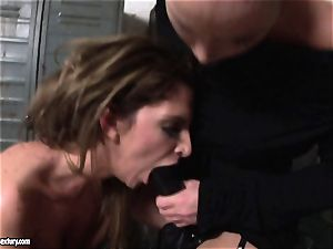 Kathia Nobili lets a scorching female fellate her cable on