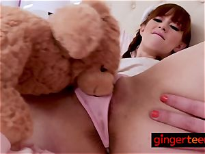 red-haired Alexa gets deeply fucked by kinky step-dad deep and rock hard