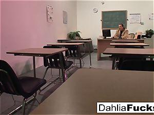 After class special lesson for Dahlia Sky
