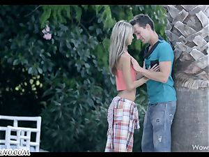 Gina Gerson - Exotic holiday for euro college girls