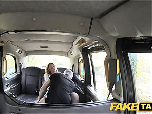 faux taxi jaw-dropping Welsh cougar with steamy bod