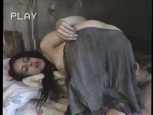 perverted sista trying ass-fuck with her brother