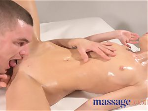 massage rooms giant orgasms for nasty Russian nymphomaniac