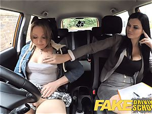 faux Driving school Daddys nymph fails her test