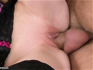 A ginormous cock is just what Gitta towheaded needs to satiate her vulva