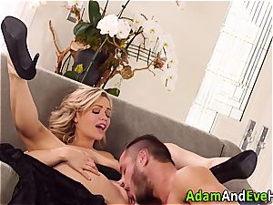spectacular duo Mia Malkova and Danny Mountain penetrating
