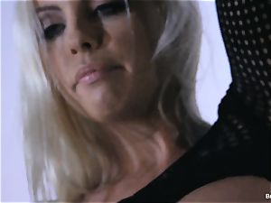 Britney Amber playthings in her beaver