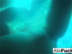Underwater hidden camera lesbian fun