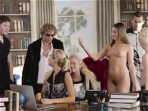 Piper Perri - Enough to work - it's time for gang-bang